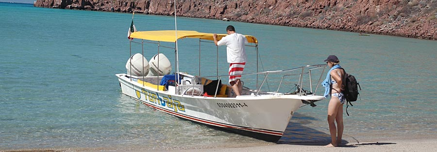 Bootsfahrt zur Isla Espiritu Santo